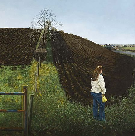 Martin Gale (20th/21st Century), Girl in a Field at Morgan O'Driscoll Art Auctions