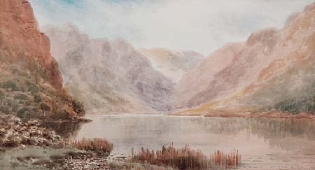Alexander Williams RHA (1846-1930), Upper Lake, Glendalough, Co. Wicklow at Morgan O'Driscoll Art Auctions