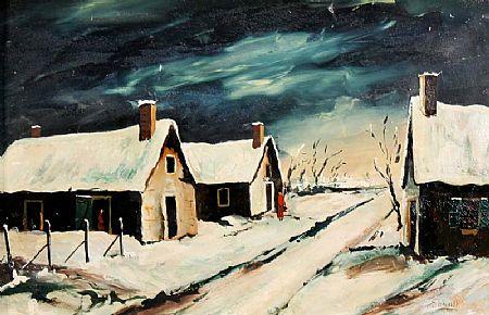 Daniel O'Neill (1920-1974), Le Neige - Le Monteil at Morgan O'Driscoll Art Auctions
