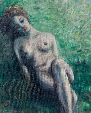 Anthony Robert Klitz (1917-2000), Female Reclining Nude at Morgan O'Driscoll Art Auctions