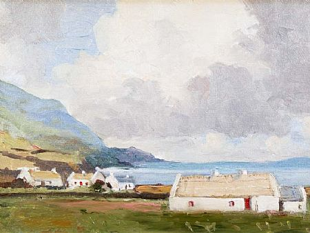 Maurice Canning Wilks ARHA RUA (1911-1984), On Achill Island at Morgan O'Driscoll Art Auctions