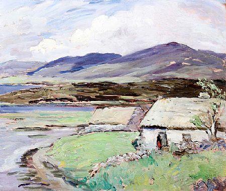 Eva Henrietta Hamilton (1876-1960), Lake Cottage at Morgan O'Driscoll Art Auctions