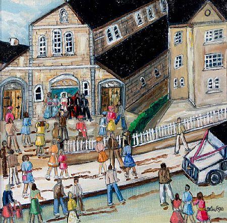 Orla Egan (20th/21st Century), The Wedding at Morgan O'Driscoll Art Auctions