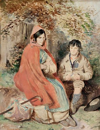 William Foster (1853-1924), Young Couple Resting at Morgan O'Driscoll Art Auctions