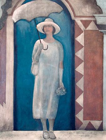 Brian Smyth (b.1967), Lady with Parasol at Morgan O'Driscoll Art Auctions