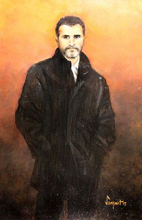 Frank Sanquest (1912-2007), Portrait of Roy Keane at Morgan O'Driscoll Art Auctions