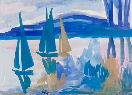 Markey Robinson (1918-1999), Yachts on the Lake at Morgan O'Driscoll Art Auctions