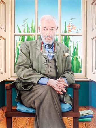 Robert Ballagh (b.1943), J.P. Dunleavy at Morgan O'Driscoll Art Auctions