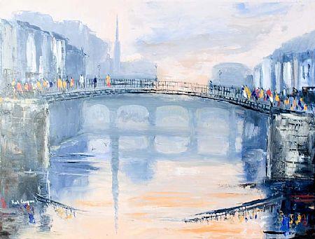Niall Campion (20th/21st Century), Ha'Penny Bridge at Morgan O'Driscoll Art Auctions