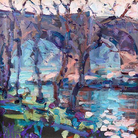 Arthur K. Maderson (b.1942), September Evening,. St. Laurent, Le Minier, France at Morgan O'Driscoll Art Auctions