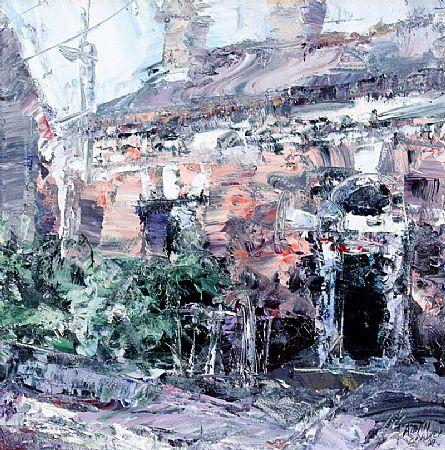Aidan Bradley (20th/21st Century), House, Emer St, Dublin at Morgan O'Driscoll Art Auctions
