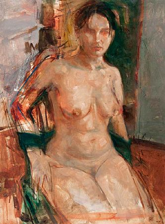 Noel Murphy (b.1970), Seated Nude at Morgan O'Driscoll Art Auctions