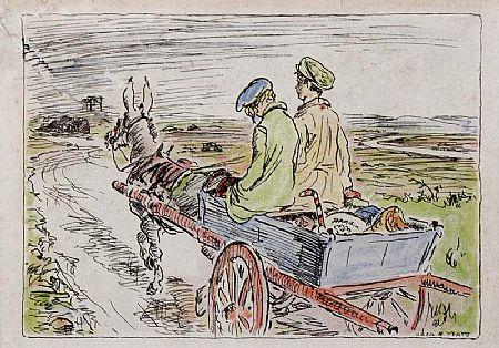 Jack Butler Yeats RHA (1871-1957), Print from The Turf Cutter's Donkey at Morgan O'Driscoll Art Auctions