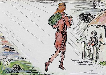Jack Butler Yeats RHA (1871-1957), The Turf-Cutter's Donkey at Morgan O'Driscoll Art Auctions