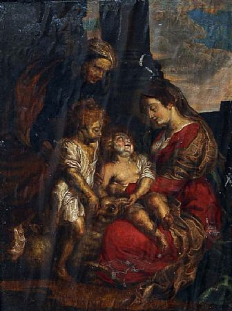 Italian School (18th Century), Madonna and Child at Morgan O'Driscoll Art Auctions