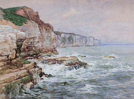Helen O'Hara (1846-1920), Sea Cliffs at Morgan O'Driscoll Art Auctions