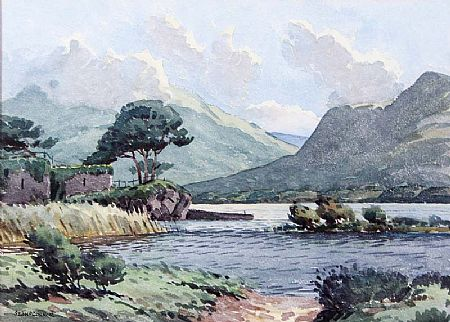 Sean O'Connor ARHA (1909-1992), Castle Lough, Killarney at Morgan O'Driscoll Art Auctions