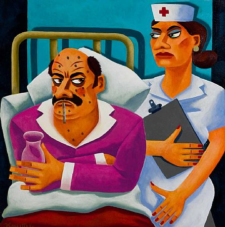 Graham Knuttel (b.1954), The Patient at Morgan O'Driscoll Art Auctions