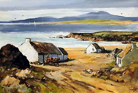 Frank Fitzsimmons (20th/21st Century), Beach Cottages at Morgan O'Driscoll Art Auctions