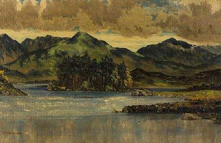 Mabel Young (1889-1974), Derryclare Lake, Connemara at Morgan O'Driscoll Art Auctions