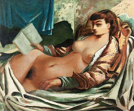 Daniel O'Neill (1920-1974), Nude at Morgan O'Driscoll Art Auctions