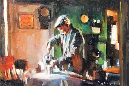 Mark O'Neill (b.1963), Morning Brew at Morgan O'Driscoll Art Auctions