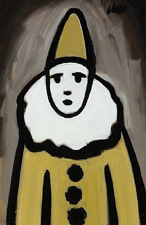 Markey Robinson (1918-1999), Clown at Morgan O'Driscoll Art Auctions