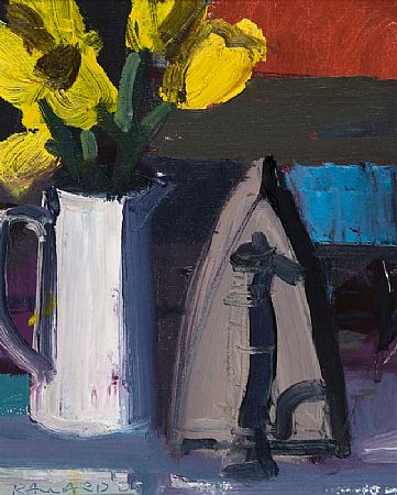 Brian Ballard RUA (b.1943), Tulips and an Old Iron at Morgan O'Driscoll Art Auctions