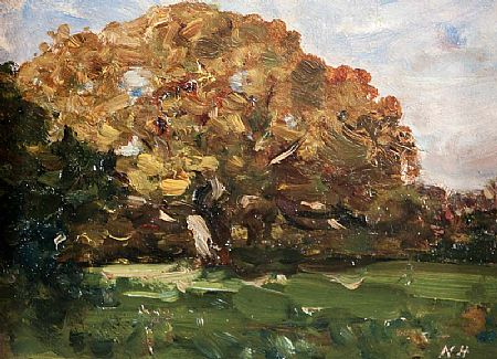 Nathaniel Hone RHA (1831-1917), Tree in a Landscape at Morgan O'Driscoll Art Auctions