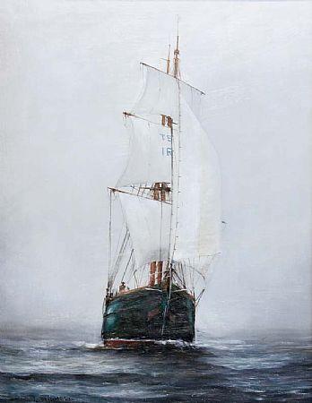 Gerry Tudhope (b.1954), Sailing Ship at Morgan O'Driscoll Art Auctions