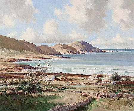 Maurice Canning Wilks ARHA RUA (1911-1984), Ballinskelligs Bay, Co. Kerry at Morgan O'Driscoll Art Auctions