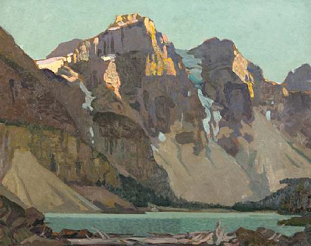 Stanley Royle (1888-1961), Evening Light, Lake Morraine, 1939 at Morgan O'Driscoll Art Auctions