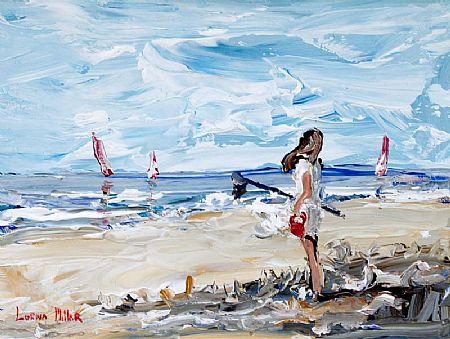 Lorna Millar (20th/21st Century), Day at the Beach at Morgan O'Driscoll Art Auctions
