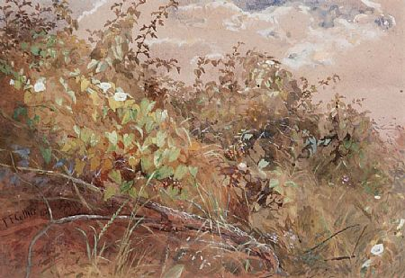 Thomas Frederick Collier (1823-1885), Hedgerow at Morgan O'Driscoll Art Auctions