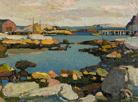 Stanley Royle (1888-1961), Blue Rocks, Nova Scotia, 1941 at Morgan O'Driscoll Art Auctions