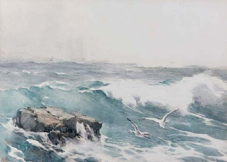 Helen O'Hara (1846-1920), Rough Seas at Morgan O'Driscoll Art Auctions