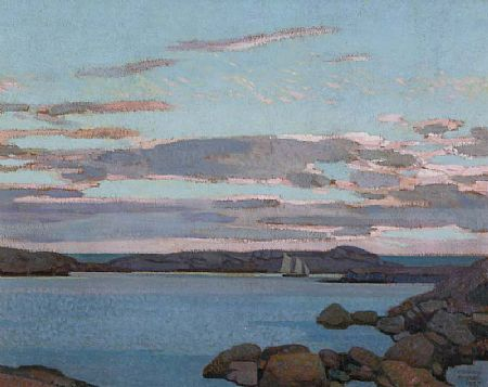 Stanley Royle (1888-1961), Prospect Cove, Nova Scotia, 1937 at Morgan O'Driscoll Art Auctions