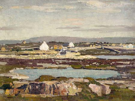Stanley Royle (1888-1961), Landscape Near Cliften, Connemara, 1953 at Morgan O'Driscoll Art Auctions