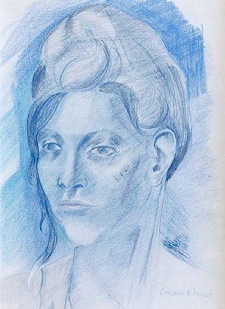 Barbara Warren RHA (b.1925), Portrait of a Lady at Morgan O'Driscoll Art Auctions