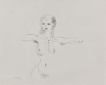 Daniel O'Neill (1920-1974), Nude Study at Morgan O'Driscoll Art Auctions