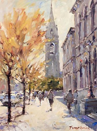 Tony Lynch (20th/21st Century), City Street at Morgan O'Driscoll Art Auctions