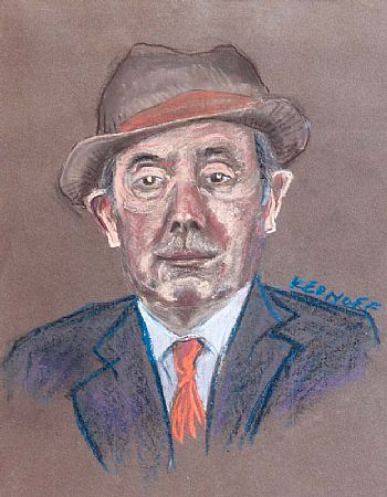 Harry Kernoff RHA (1900-1974), Portrait of a Man at Morgan O'Driscoll Art Auctions