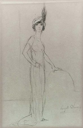 Hazel Lavery (c.1887-1935), A Fashionable Lady at Morgan O'Driscoll Art Auctions