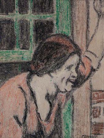 William Conor RHA RUA ROI (1881-1968), Washer Woman at Morgan O'Driscoll Art Auctions