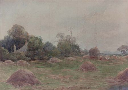 Helen O'Hara (1846-1920), Harvest Time at Morgan O'Driscoll Art Auctions