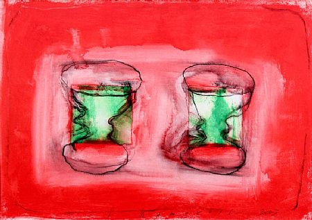 Neil Shawcross RUA (b.1940), Goblets at Morgan O'Driscoll Art Auctions