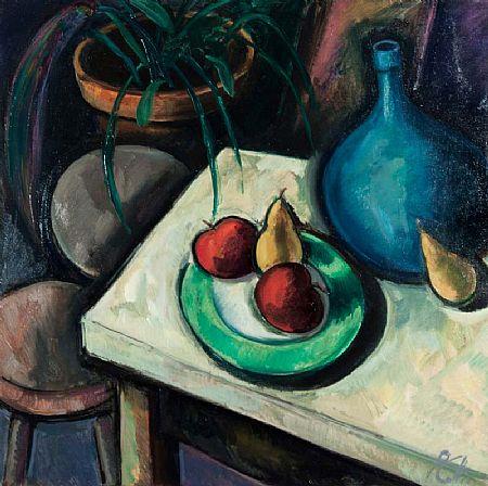 Peter Collis RHA (b.1929), Still Life with Green Plate at Morgan O'Driscoll Art Auctions