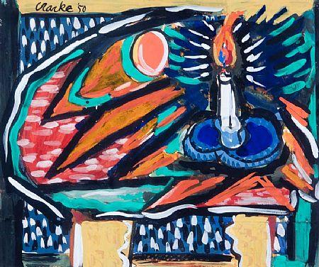 David Clarke (b.1920), Candlelight at Morgan O'Driscoll Art Auctions