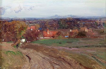 Walter Frederick Osborne RHA (1859-1903), Near Didcot, Byberry Clumps in the Distance at Morgan O'Driscoll Art Auctions