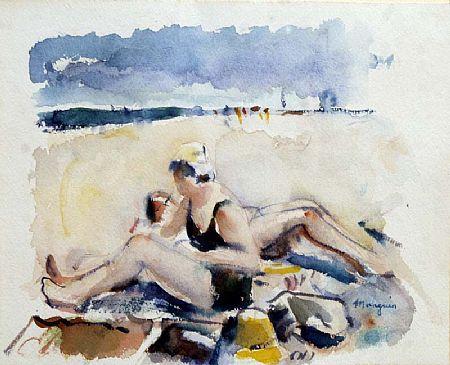 Herni Manguin (1874-1949), Sunbathers at Morgan O'Driscoll Art Auctions